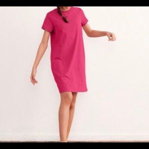 Shein T shirt dress size small hot pink